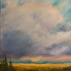 ML Marg Smith -Thunderhead 20x16 oil- SOLD