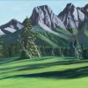 M.L.-Marg Smith- Alpine Meadow -acrylic-9x18