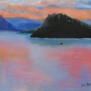 Marg Smith -SOLD -Copper Island oil on canvas