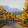 M.L. Marg Smith - Road to Tranquility-SOLD-, oil, 16x20