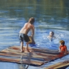 ©ML Marg Smith -Fun at the Old Dock