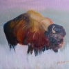 ©Marg Smith-Prairie Roamer-SOLD-8x10-oil