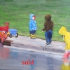 ©Marg Smith - Rainy Day Friends-SOLD