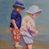 ML Marg Smith-Now-Wiggle-Your-Toes-14x11-oil