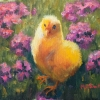 © ML Marg Smith - Spring Is Here - 6x8 oil - available