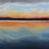 M.L.-Marg Smith - Sunrise In Paradise 15 x30 oil on canvas