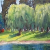 ©ML Marg Smith-Summer Trees-9x12-oil