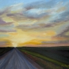 ©Ml-Marg-Smith-Sunday-Evening-Drive-11x14-oil