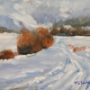 ML Marg Smith - Snowy Trails