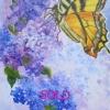 M.L. Marg Smith - Summer Arrival 24 x 18 oil on canvas