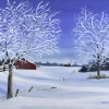 Marg-Smith-Frosty-Morn-16x20--SOLD-acrylic-sold
