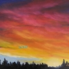 Marg Smith - A New Beginning 9x12 oil and acrylic on canvas $300