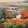 ML Marg Smith - Colourful Marshlands-sold-