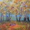 M.L. Marg Smith - Poplar-Ridge- 14x11-oil-on-canvas