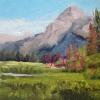©ML Marg Smith -Alpine Pond 6x8 oil