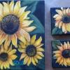 ©Marg Smith - Sunflower Trio