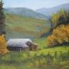 ©ML Marg Smith -The Old Barn 6x8 oil -en plein aire