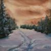 ML Marg Smith - Warm Winter's Dusk