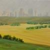 ©ML-Marg-Smith-Calgary-Skyline-I-oil-11x14